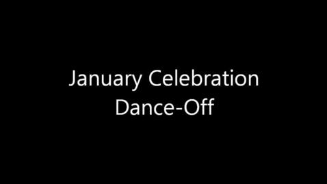 Thumbnail for entry January Celebration- Dance Off