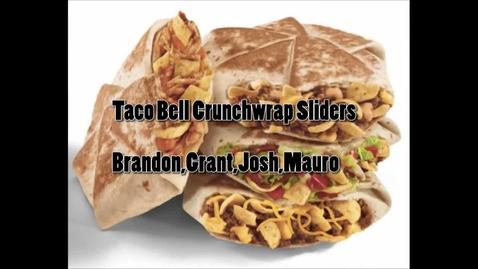 Thumbnail for entry Taco Bell Sliders - WSCN 2015/2016