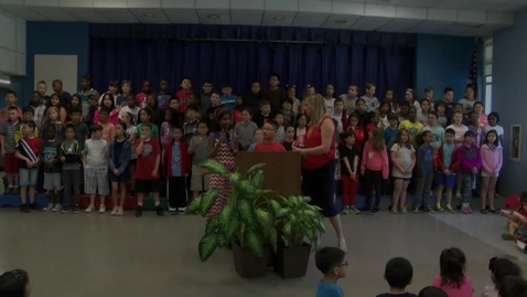 Thumbnail for entry Lincoln Hancock Elementary Celebrates Flag Day 2018