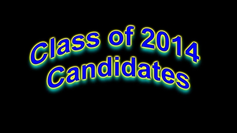 Thumbnail for entry Class of 2014 Speeches