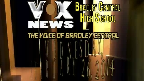 Thumbnail for entry VOX News for Wednesday, February 26, 2014