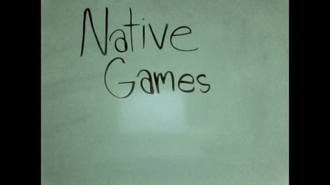 Thumbnail for entry Native Games