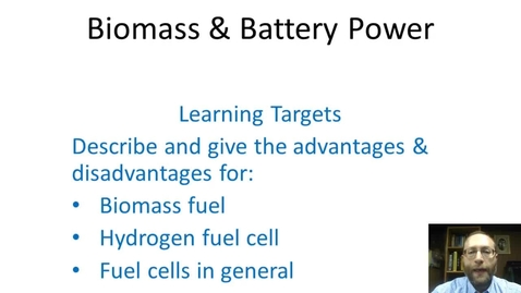 Thumbnail for entry Biomass and Battery Power