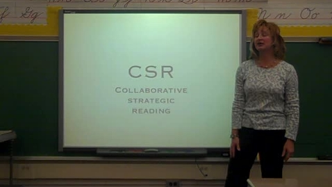 Thumbnail for entry CSR 4th Grade Mrs. Morton January 2012