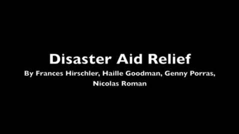 Thumbnail for entry Disaster Aid Relief