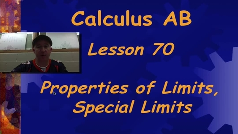 Thumbnail for entry Lynch AP Calculus AB - Lesson 70