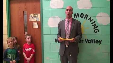 Thumbnail for entry Whitewater Valley Elementary Students of the Month - September 2016