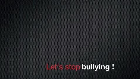 Thumbnail for entry Bully prevention