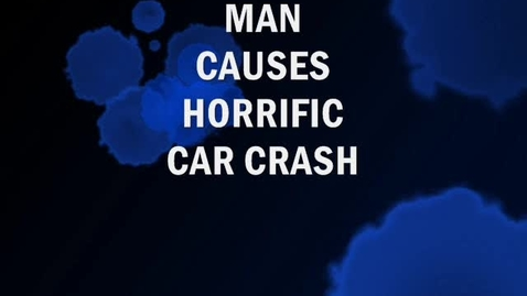 Thumbnail for entry MAN CAUSES HORRIFIC CAR CRASH ( w. DECAPITATION)