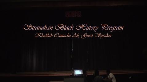 Thumbnail for entry Khalilah Ali Visits Stranahan