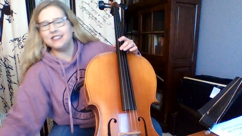 Thumbnail for entry 6th Gr CELLO Chanson Belle Week 5