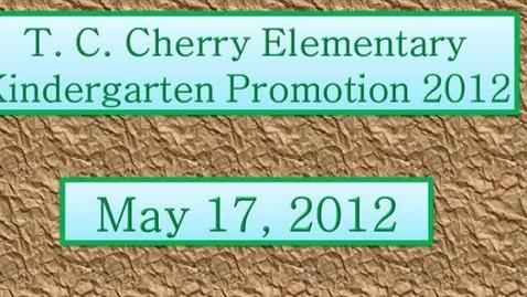 Thumbnail for entry Kindergarten Promotion