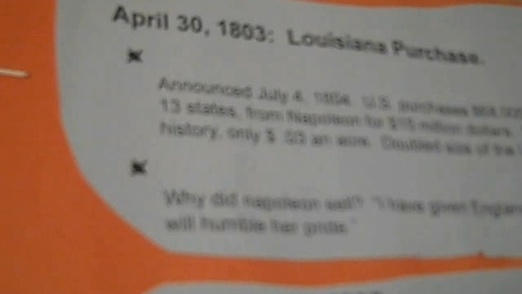 Thumbnail for entry Lewis and Clark and The Louisiana Purchase