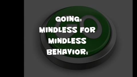 Thumbnail for entry Going Mindless for Mindless Behavior!!!!