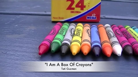 Thumbnail for entry i am a box of crayons
