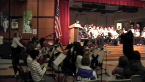 Thumbnail for entry TMS Beginning Orchestra 12-18-12