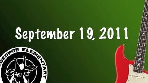 Thumbnail for entry LGE Sept. 19, 2011