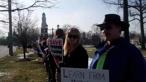 Thumbnail for entry LHS teachers speak out on Senate Bill 5