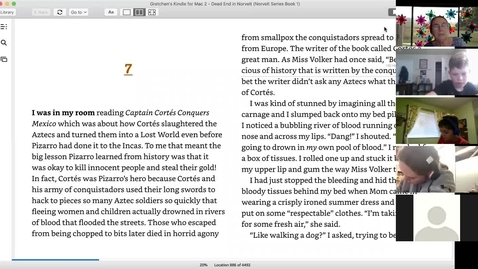 Thumbnail for entry Dead End in Norvelt Chapter 7