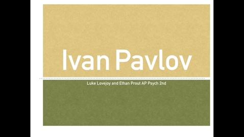Thumbnail for entry Ivan Pavlov 2nd Mod Luke and Ethan