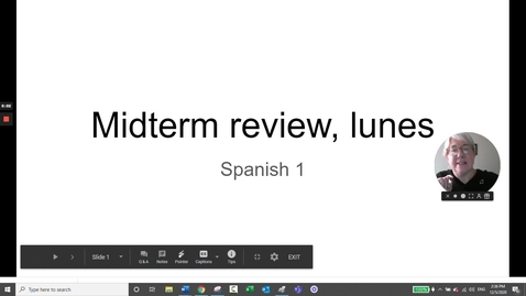 Thumbnail for entry Midterm Review, lunes