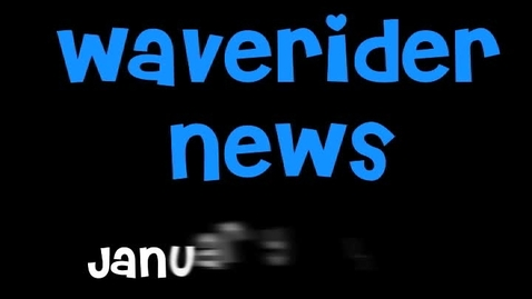 Thumbnail for entry Waverider News 1-10-11