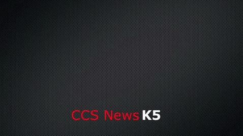 Thumbnail for entry CCS News K-5 Dec 2009