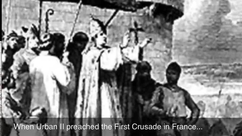 Thumbnail for entry The First Crusade