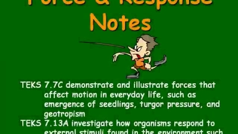 Thumbnail for entry Force and Response Notes