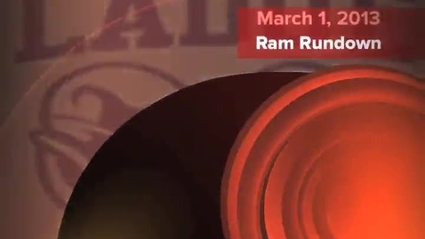 Thumbnail for entry March 1, 2013 Ram Rundown