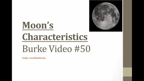 Thumbnail for entry Burke Video #50 Moon Char's