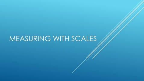 Thumbnail for entry MECHANICAL SCALE