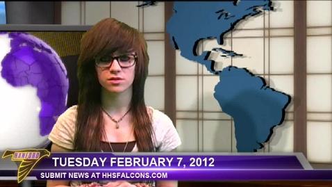 Thumbnail for entry February 07, 2012