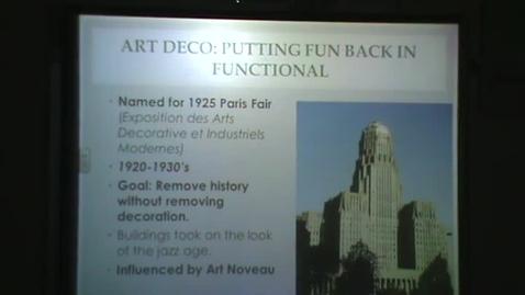 Thumbnail for entry 20th Century Architecture: Art Deco through Deconstructivism