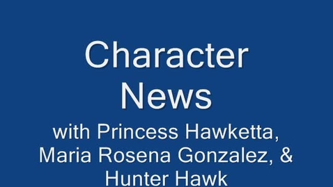 Thumbnail for entry Character News March 22, 2010