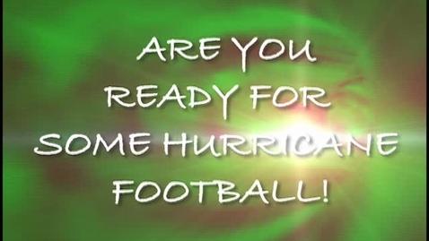 Thumbnail for entry Football Promo