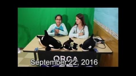 Thumbnail for entry Orca Live September 22, 2016 (Season 13 Premiere)