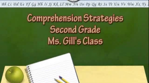Thumbnail for entry Comprehension Strategies