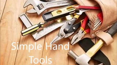 Thumbnail for entry hand tools