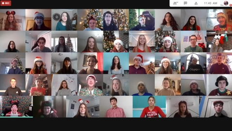 Thumbnail for entry GIHS Concert Choir Holiday Songs December 2020