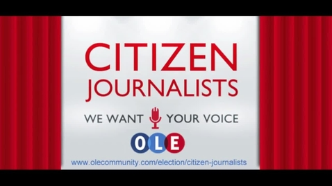 Thumbnail for entry Citizen Journalists at the presidential debate in Denver
