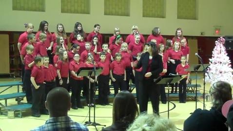 Thumbnail for entry Woodland Honor Choir Christmas Concert