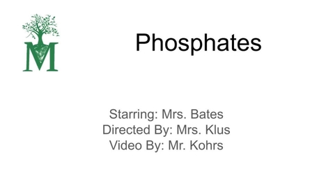 Thumbnail for entry Phosphates