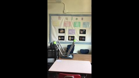 Thumbnail for entry Classroom Tour