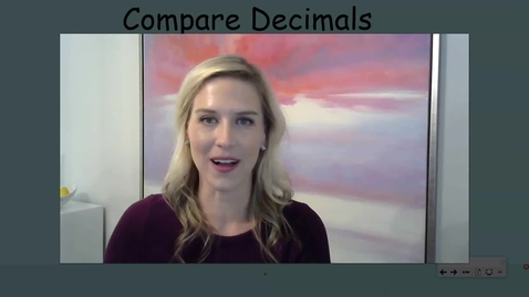 Thumbnail for entry Ordering Decimals.mp4