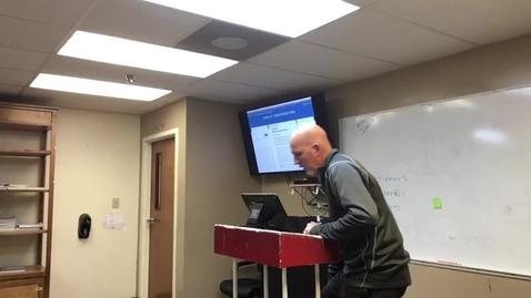 Thumbnail for entry Exodus Lesson 24 - The Ten Commandments