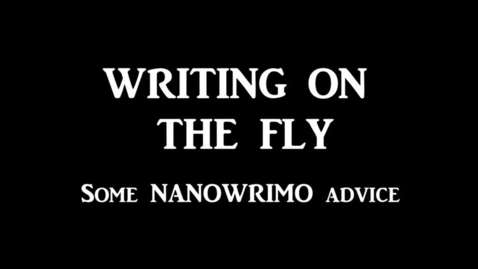Thumbnail for entry Writing on the Fly