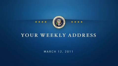 Thumbnail for entry Weekly Address: Women's History Month & Fair Pay