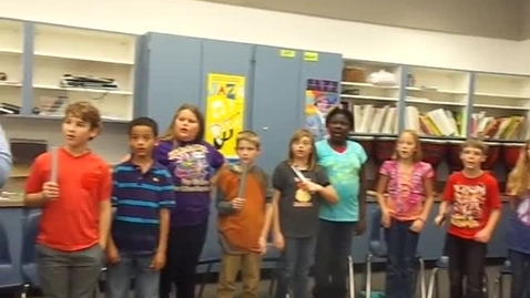 """Thumbnail for entry Mr. Bowie's 5th grade class """"Jingle Bells"""""""