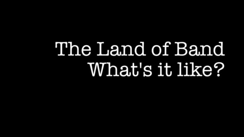 Thumbnail for entry BAND:  What's It Like?